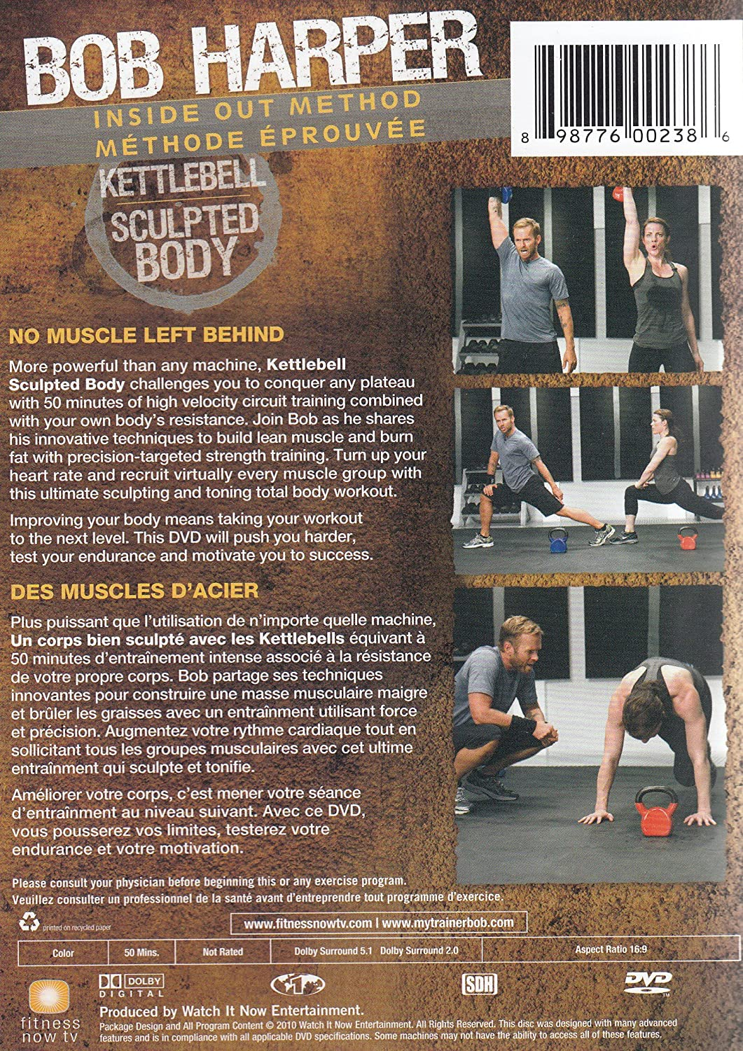 Bob Harper Kettlebell Sculpted Body Darren Control Circuit Training Course Length Is Customizable Based On Your Capik Movies Tv