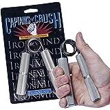 Ironmind Captains of Crush ejercitador de mano todos los tamaños Mano Fuerza N º 2 (195 libras)