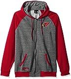 Amazon Price History for:NFL Men's Full Zip Fleece Hoodie Sweatshirt Jacket Contrast Raglan, Team Logo Color
