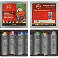 KOH-I-NOOR Progresso Woodless Aquarell Coloured Pencils (Set of 48)