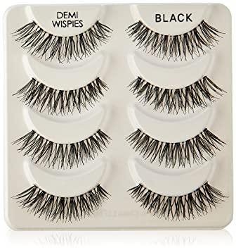 aaabdd72789 Amazon.com : Ardell Multipack Demi Wispies Fake Eyelashes (4-Pack) : Beauty