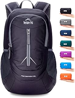 184f6c66fe38 Venture Pal Packable Lightweight Backpack Small Water Resistant Travel  Hiking Daypack