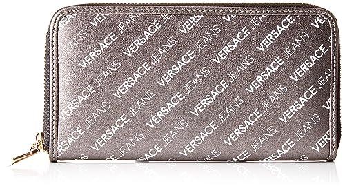 691ab602a1 Versace Jeans Wallet, Portafoglio Donna, Nero, 1x10.5x19.5 cm (W x H ...