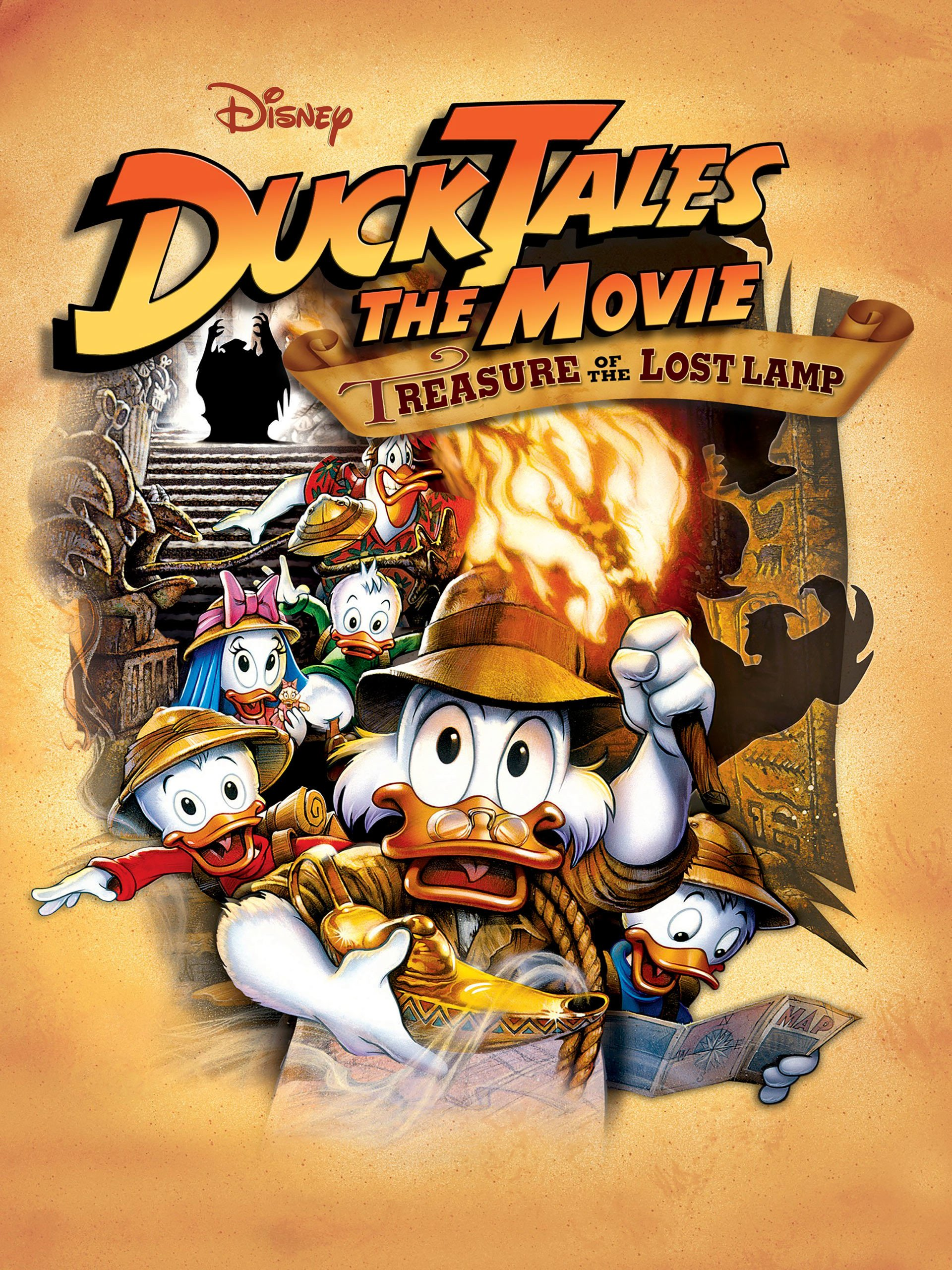 Amazon.com: Watch Ducktales The Movie - Treasure of the Lost Lamp ...