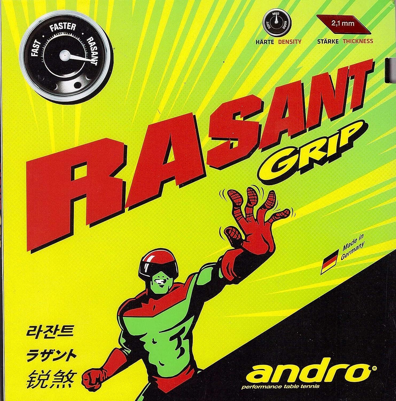 andro Rasantグリップ、ブラック、Table Tennisラバー B01MYQWNI5