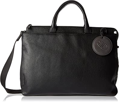 MANDARINA DUCK Mellow Leather S Purse Geldbörse Amphora Braun Neu