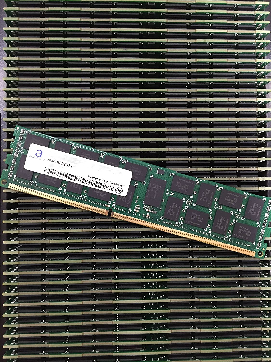 Server Memory Upgrade for HP Proliant BL2x220c G7 with Intel Xeon 5600 Series CPU DDR3 1333Mhz PC3-10600 ECC Registered 2Rx4 CL9 1.35v 2x16GB Adamanta 32GB
