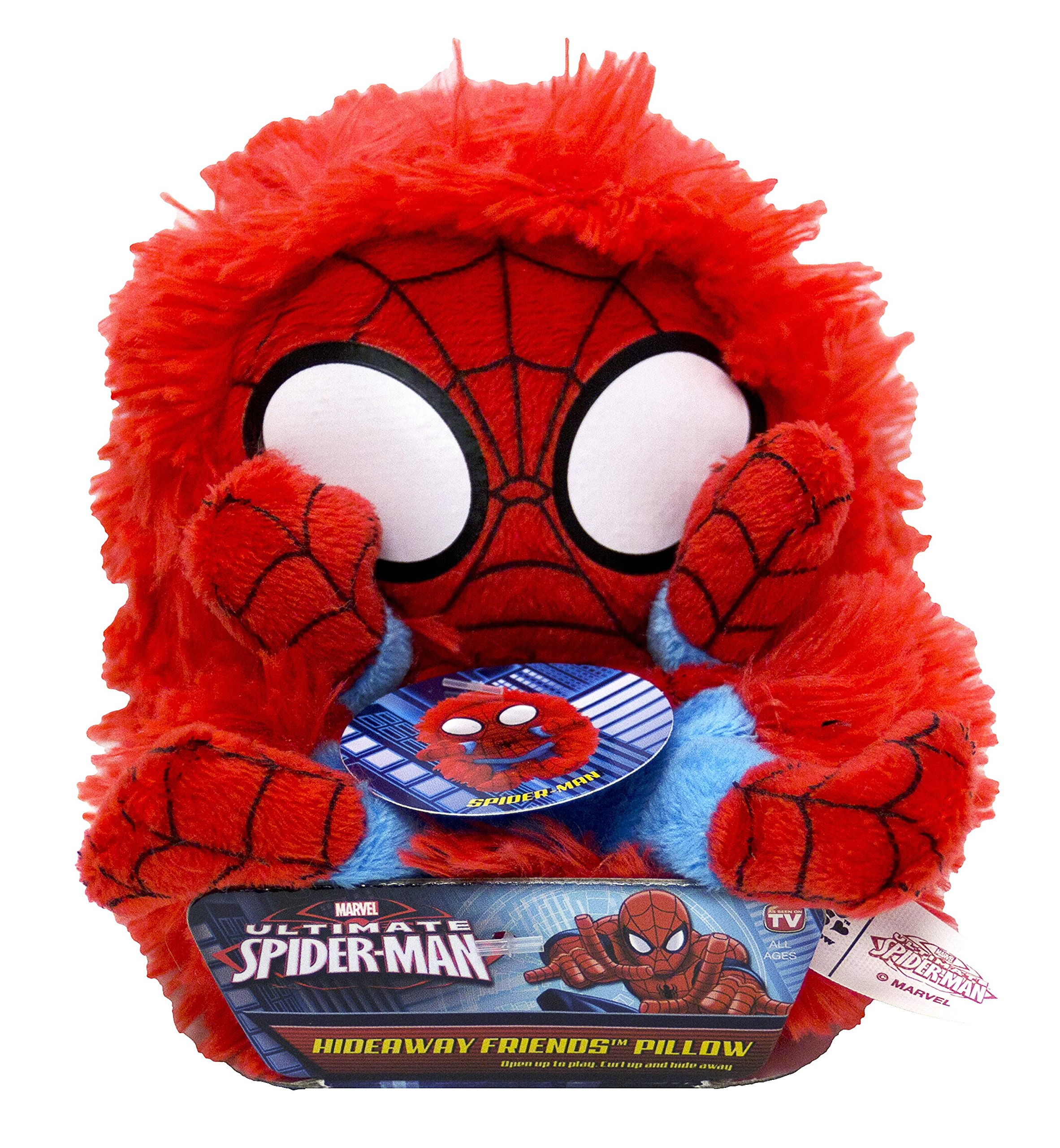 Marvel Spiderman 5'' Hideaway Pet Pillow