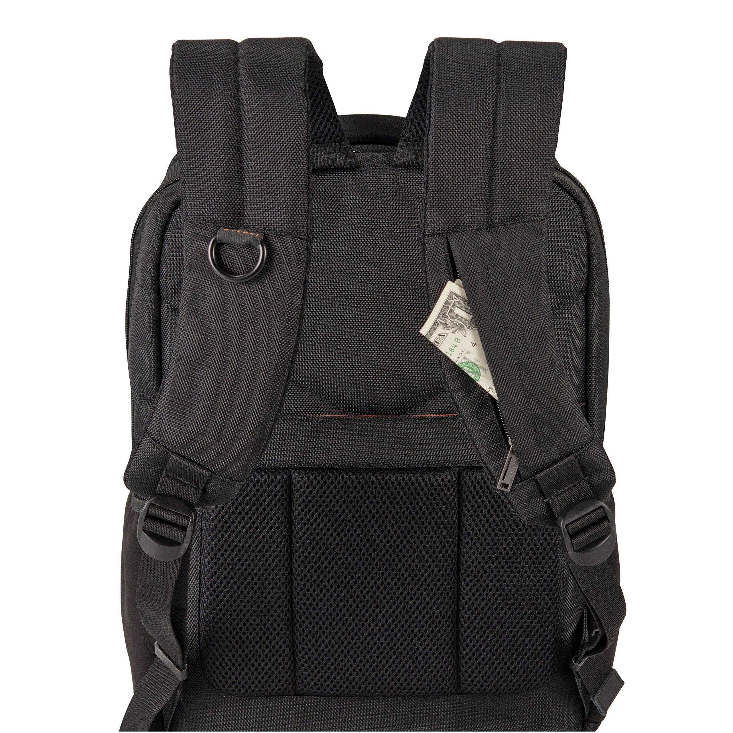 Everki Studio Slim Laptop Backpack for upto 14.1-Inch Laptops/15-Inch MacBook Pro (EKP118) by Everki (Image #8)