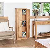 baumhaus mobel oak dvd storage cupboard