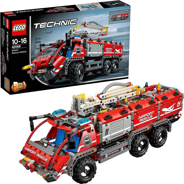 LEGO Technic - Vehículo de rescate aeroportuario (42068): Amazon.es: Juguetes y juegos