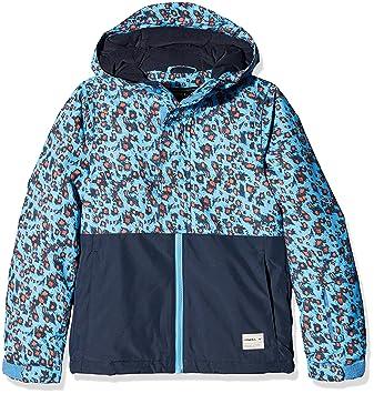 O Neill Gem – Cazadora de esquí para niña Blue AOP, Color Azul -
