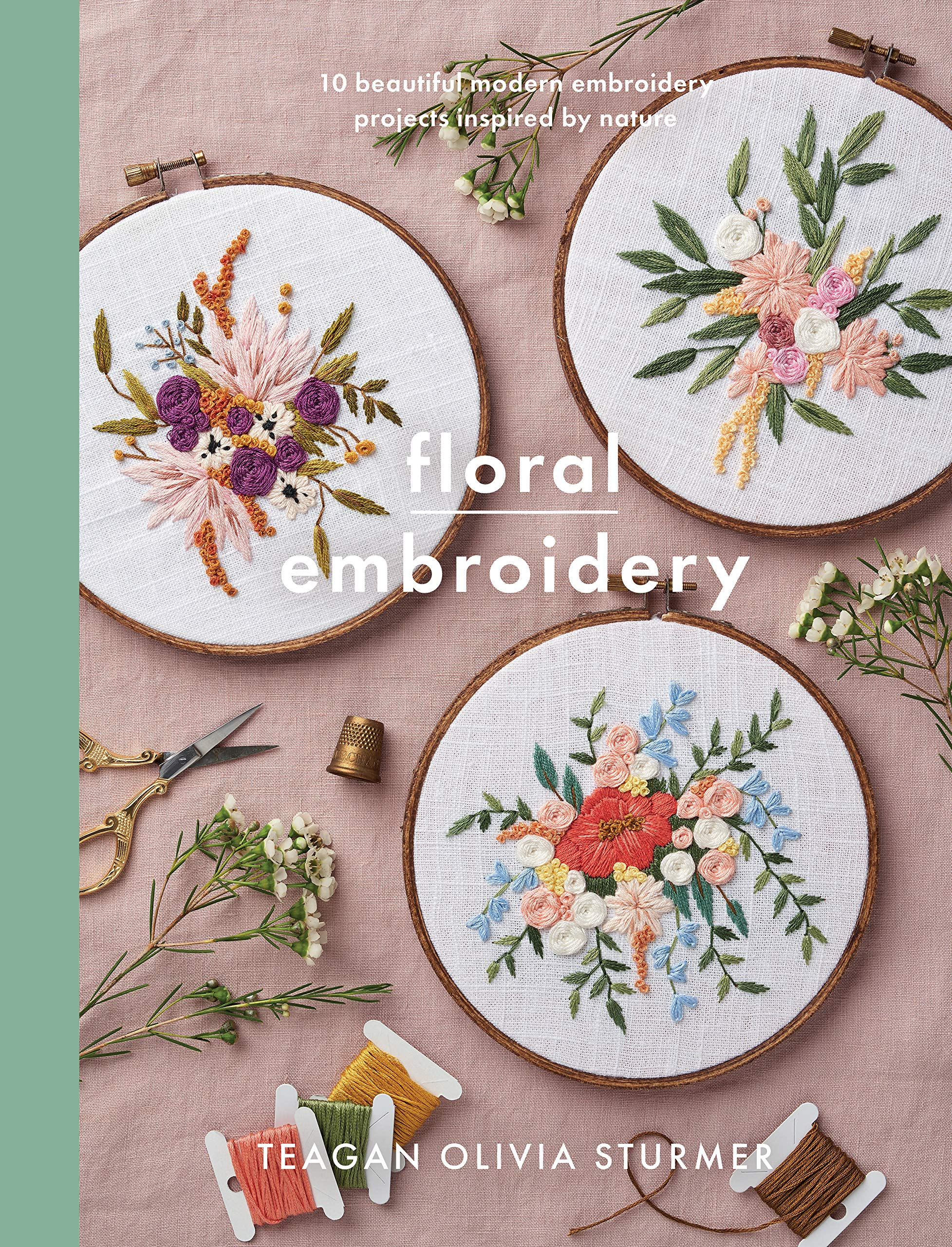 Pretty Floral Embroidery