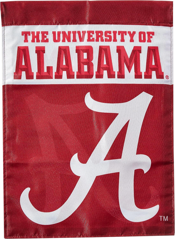 NCAA Alabama Crimson Tide 2-Sided Garden Flag