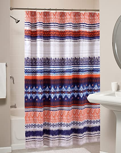Amazon.com: Greenland Home Urban Boho Bath/Shower Curtain: Home ...