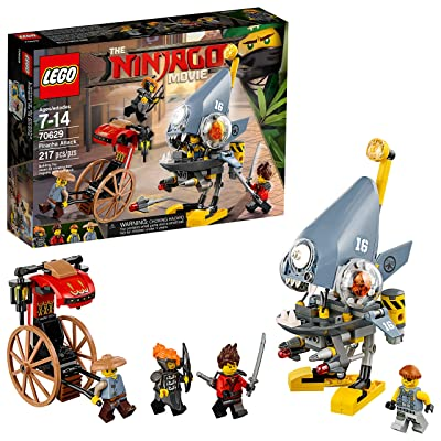 LEGO Ninjago Movie Piranha Attack 70629: Toys & Games