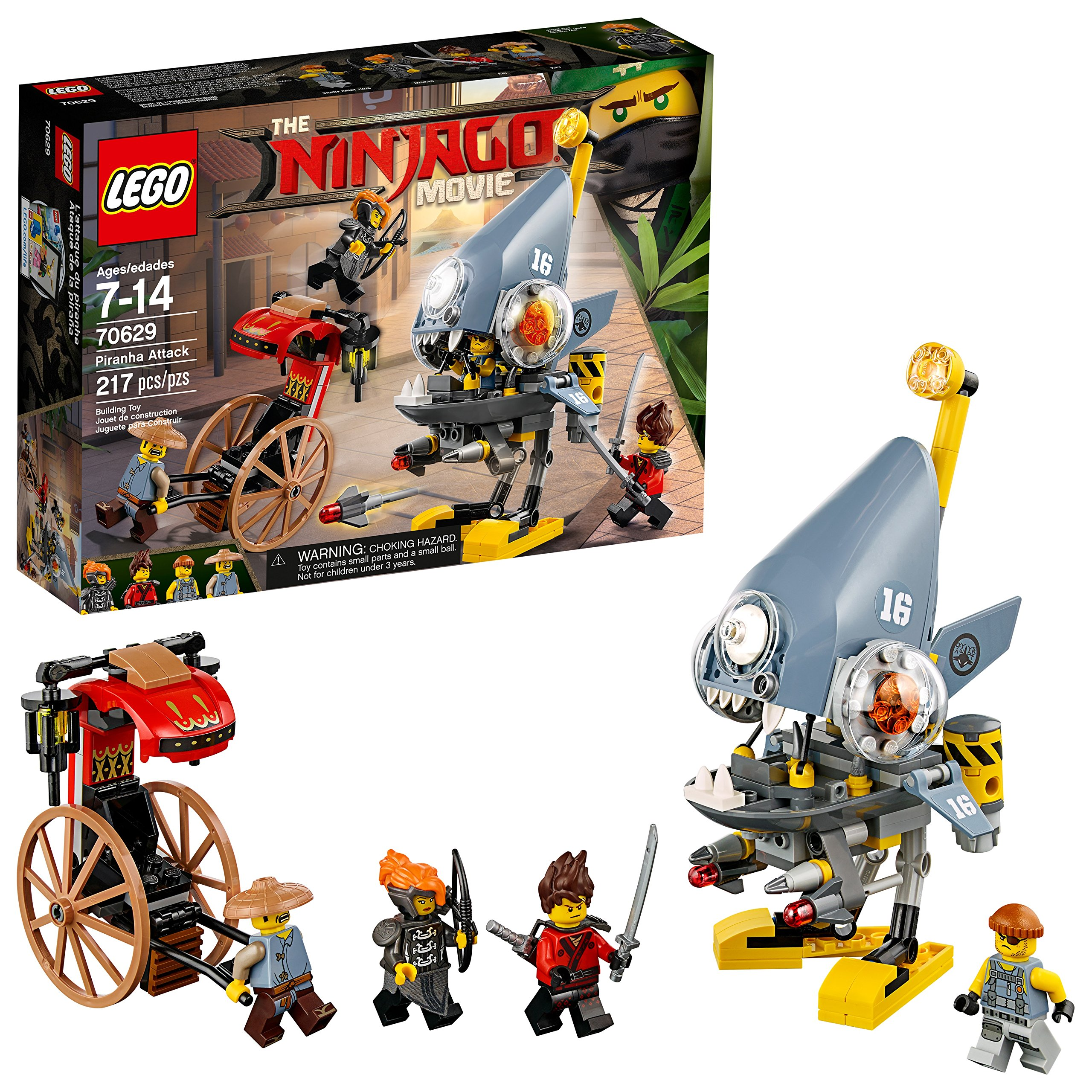Details about LEGO Ninjago Movie Piranha Attack Minifigures Complete Set  Box Sealed New Gift