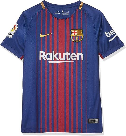 Nike FCB Camiseta 1ª Equipación Temporada 2017-2018, Línea FC ...