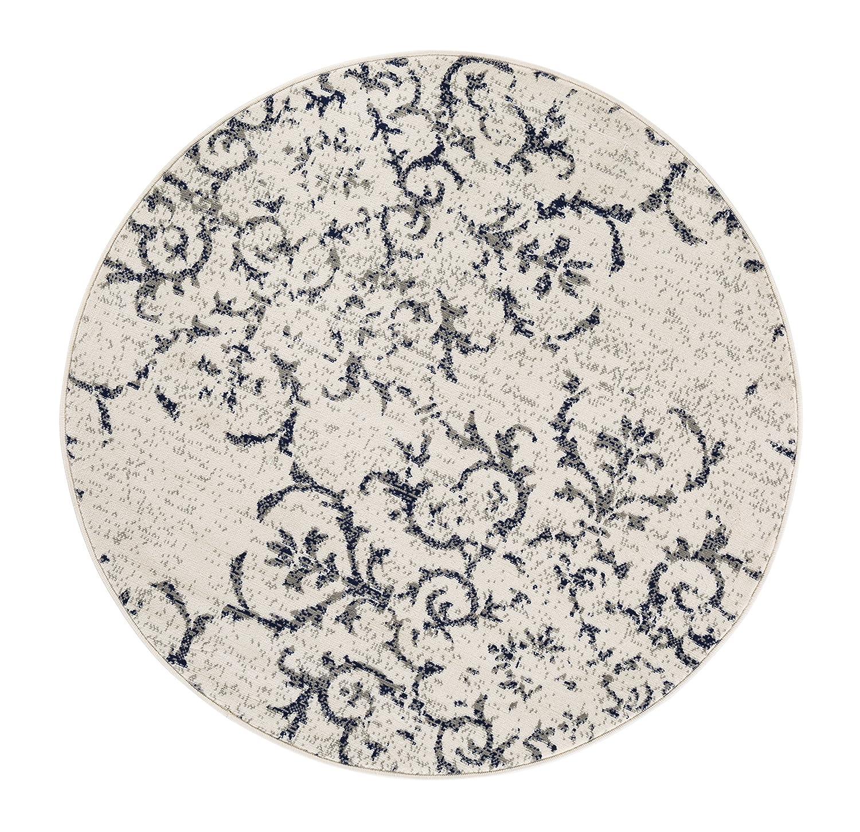 Andiamo Teppich Puerto Webteppich Designteppich Kurzfloorteppich Musterteppich – – –  120 x 170 cm, Creme B079JSYVFS Teppiche 0b205b