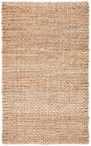 Safavieh Natural Fiber Collection NF452A Natural Sisal Area Rug 3 x 5