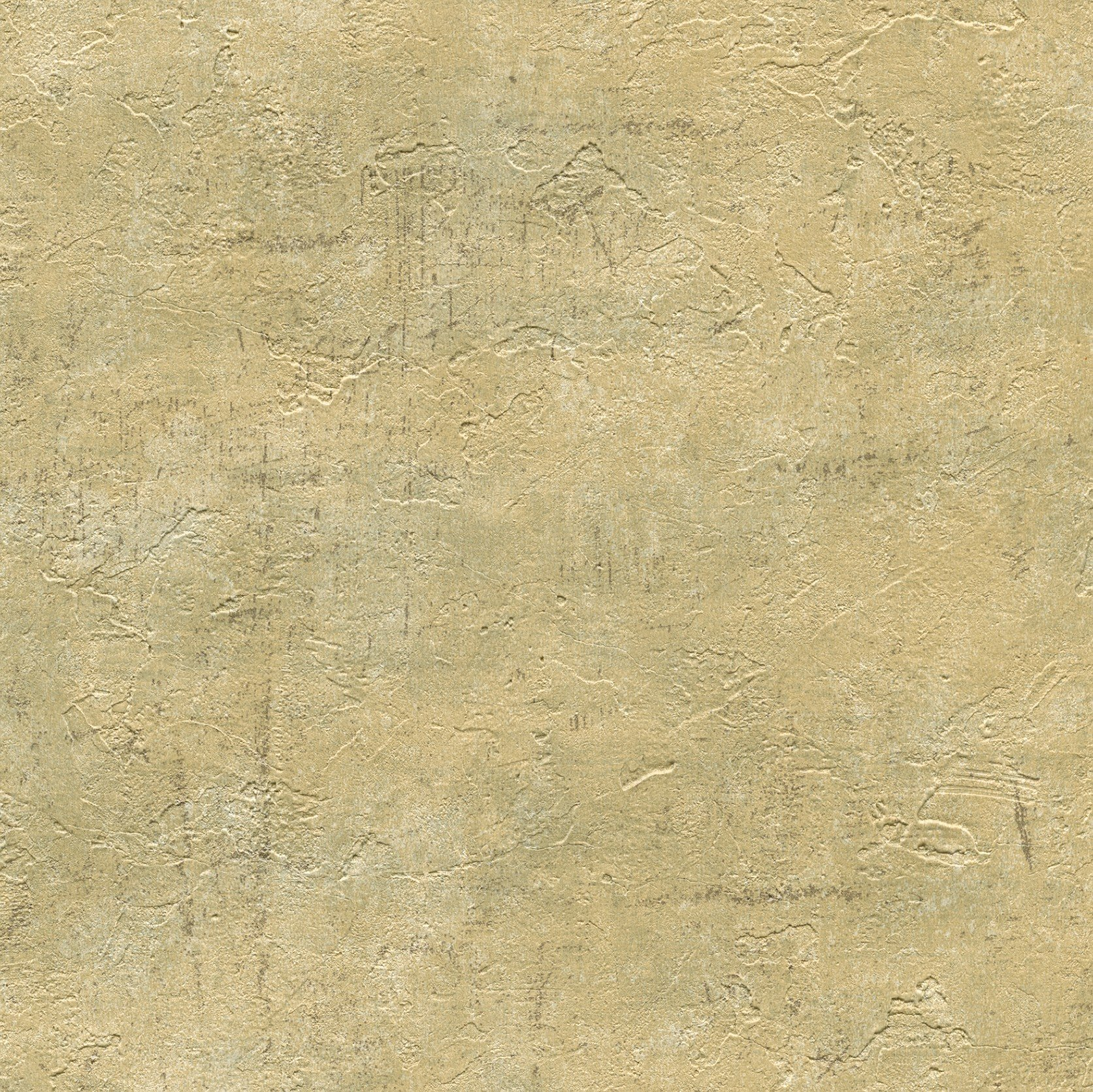 Warner WD3070 Plumant Gold Faux Plaster Texture Wallpaper, Bronze by Warner Manufacturing