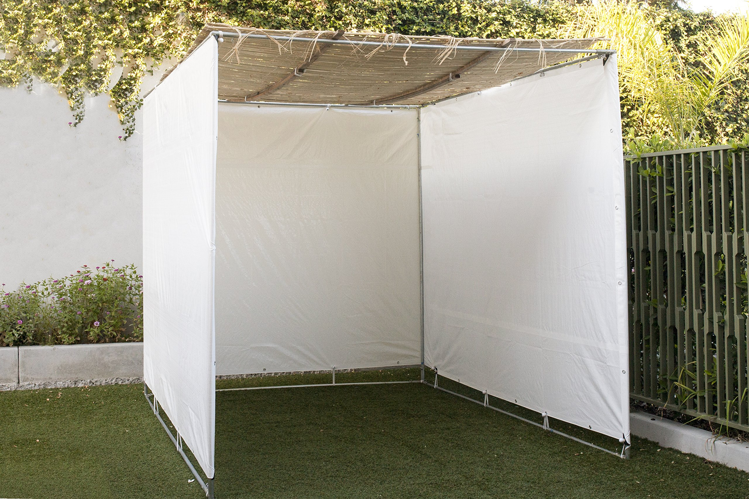 TheSukkahSpot - Easy to Build Sukkah Succah Sukah - Certified Kosher - (10X15) by TheSukkahSpot