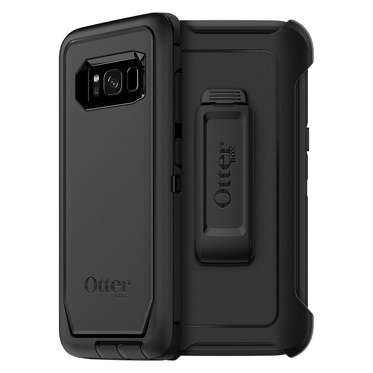 OtterBox DEFENDER SERIES SCREENLESS EDITION for Samsung Galaxy S8 Retail Packaging BLACK