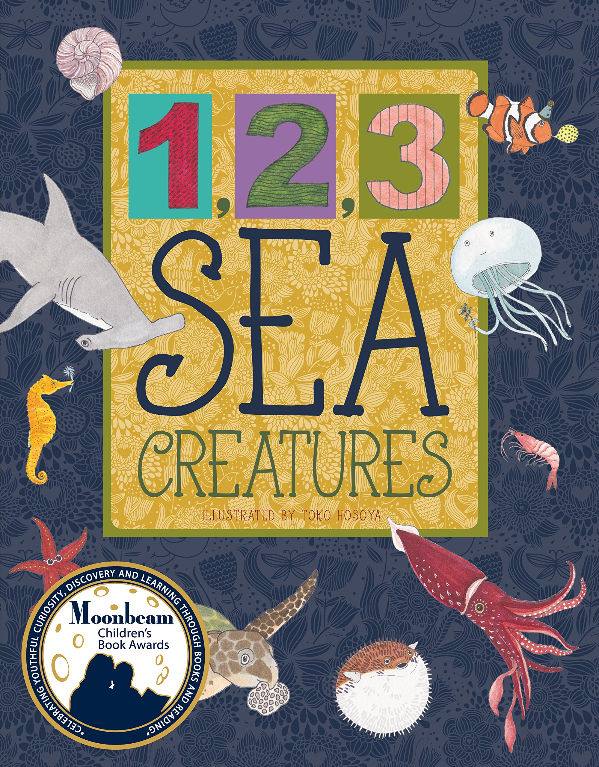Download 1,2,3 Sea Creatures (Animal Concepts) PDF