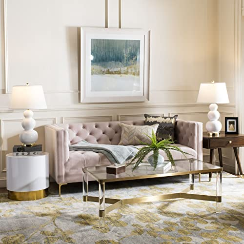 Safavieh Evoke Collection EVK236P Vintage Floral Grey and Gold Area Rug 4 x 6
