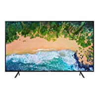 "Samsung UN58NU7100FXZC 58"" 4K Ultra HD Smart LED TV (2018), Charcoal Black [Canada Version]"