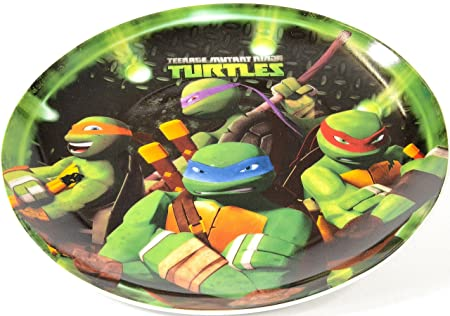 Tortugas Ninja - Pizza set porcelana (plato, tenedor ...