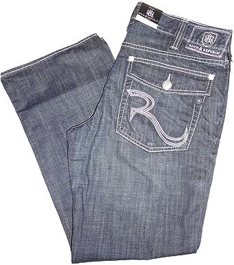 16ece95b43d Men's Rock & Republic Rebellion Bootcut Denim Blue Jeans (34 x 32 ...