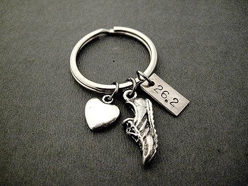 I Love Running Key Chain