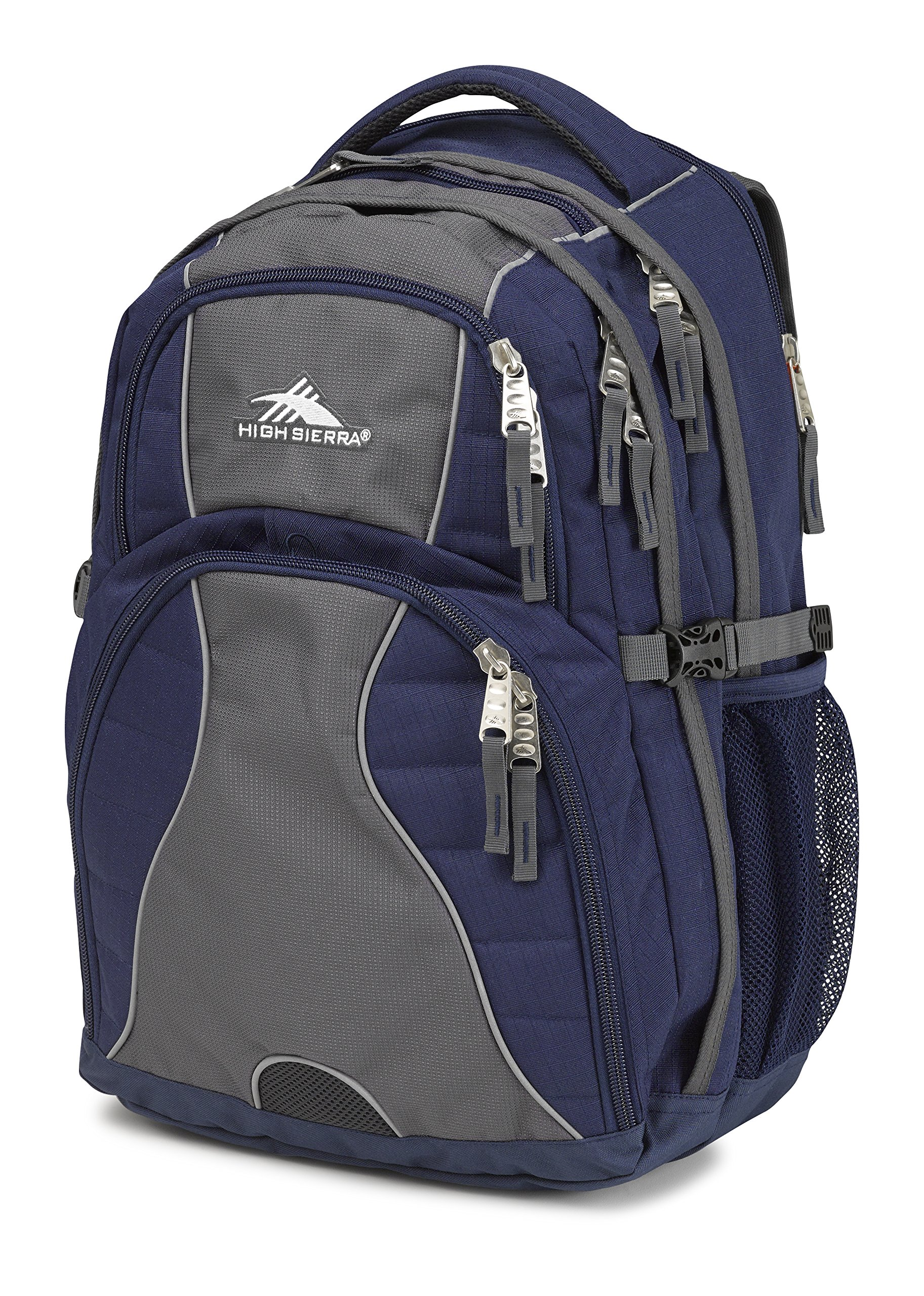 High Sierra Swerve Laptop Backpack, True Navy/Mercury