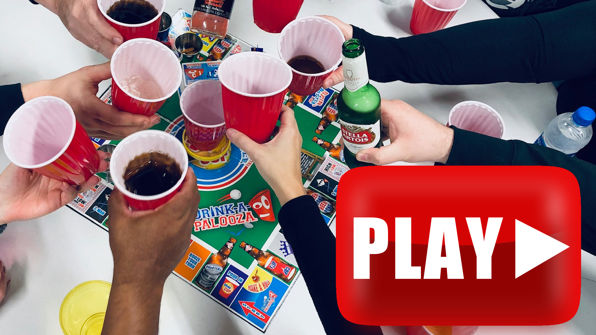 DRINK-A-PALOOZA Board Game: Fun Drinking Games for Adults ...