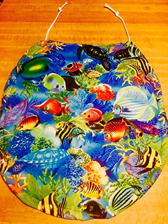 Royal blue  Sea BLue  Orange Coral  Yellow Angel fish handmade in the usaAmazon com   Royal blue  Sea BLue  Orange Coral  Yellow Angel fish  . Royal Blue Toilet Seat. Home Design Ideas
