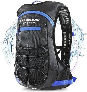 Amazon.com: Mochila de hidratación Chameleon - Bolsa de agua ...