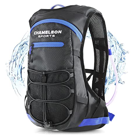 f16e15a253 Image Unavailable. Image not available for. Color  Chameleon Hydration  Backpack - Waterproof Breathable Camel Water Bag ...