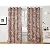 Amazon Com Allbright 100 Blackout Lined Curtains