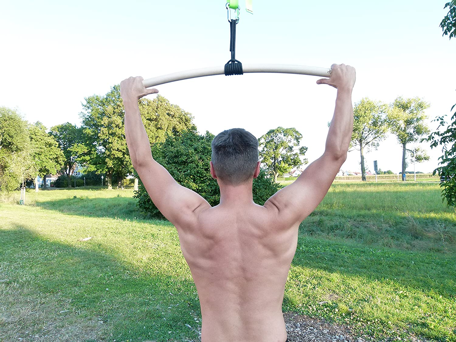 rope eaglefit Pull-up bar ergonomically shaped 60 cm Made in Germany