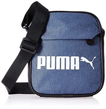 Image Unavailable. Image not available for. Colour  Puma Polyester 18 cms  -Denim Messenger Bag ... 2858c0761a80f