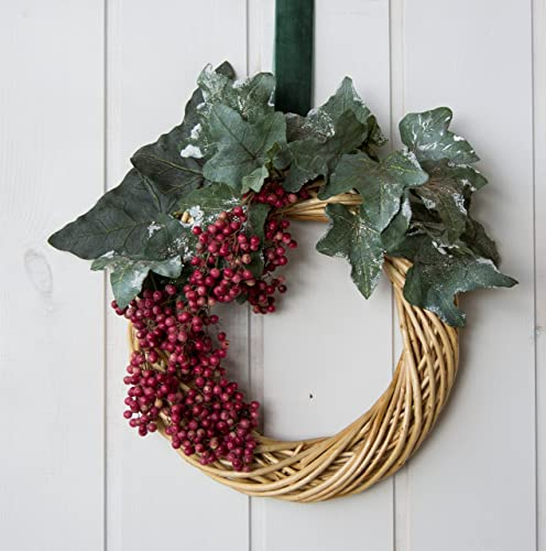 Amazoncom 1 Of A Kind Italian Elegant Christmasyear Round Wreath
