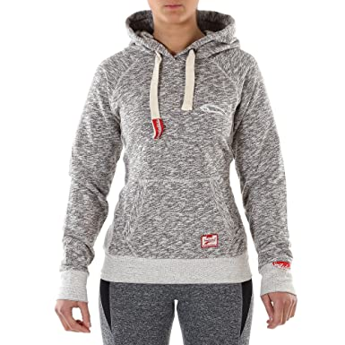SMILODOX Kapuzenpullover Damen   Basic Hoodie für Sport Fitness   Freizeit    Sportpullover - Sweatshirt Pulli 4e23f0dcec