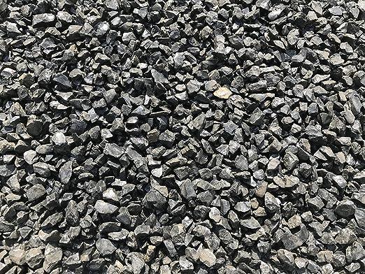 Mármol Grava mármol gravilla Negro 25 – 40 mm estriado Saco de 25 kg Ware Ornamentales Grava Nero: Amazon.es: Jardín