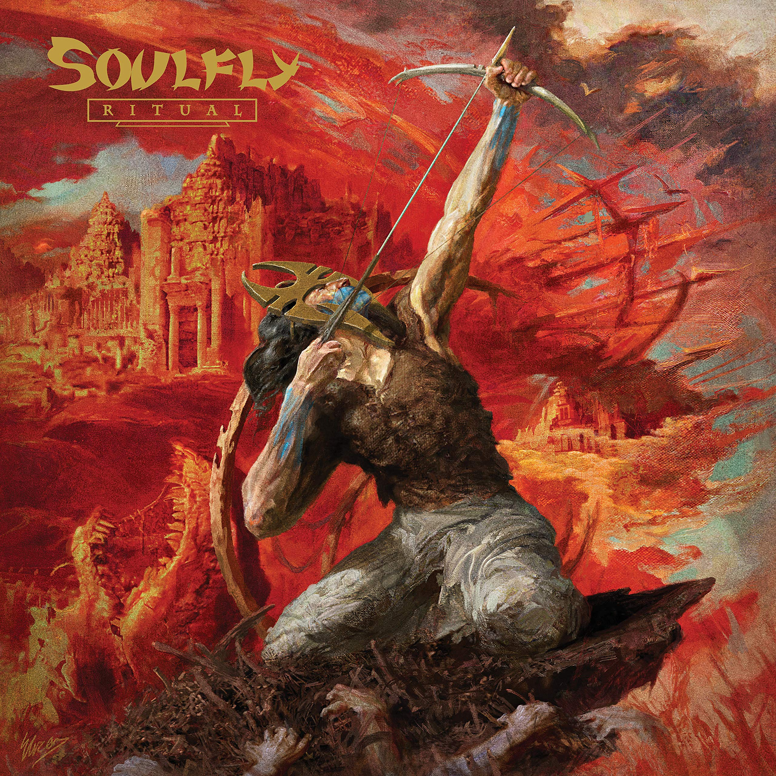 Vinilo : Soulfly - Ritual (Colored Vinyl, Brown)