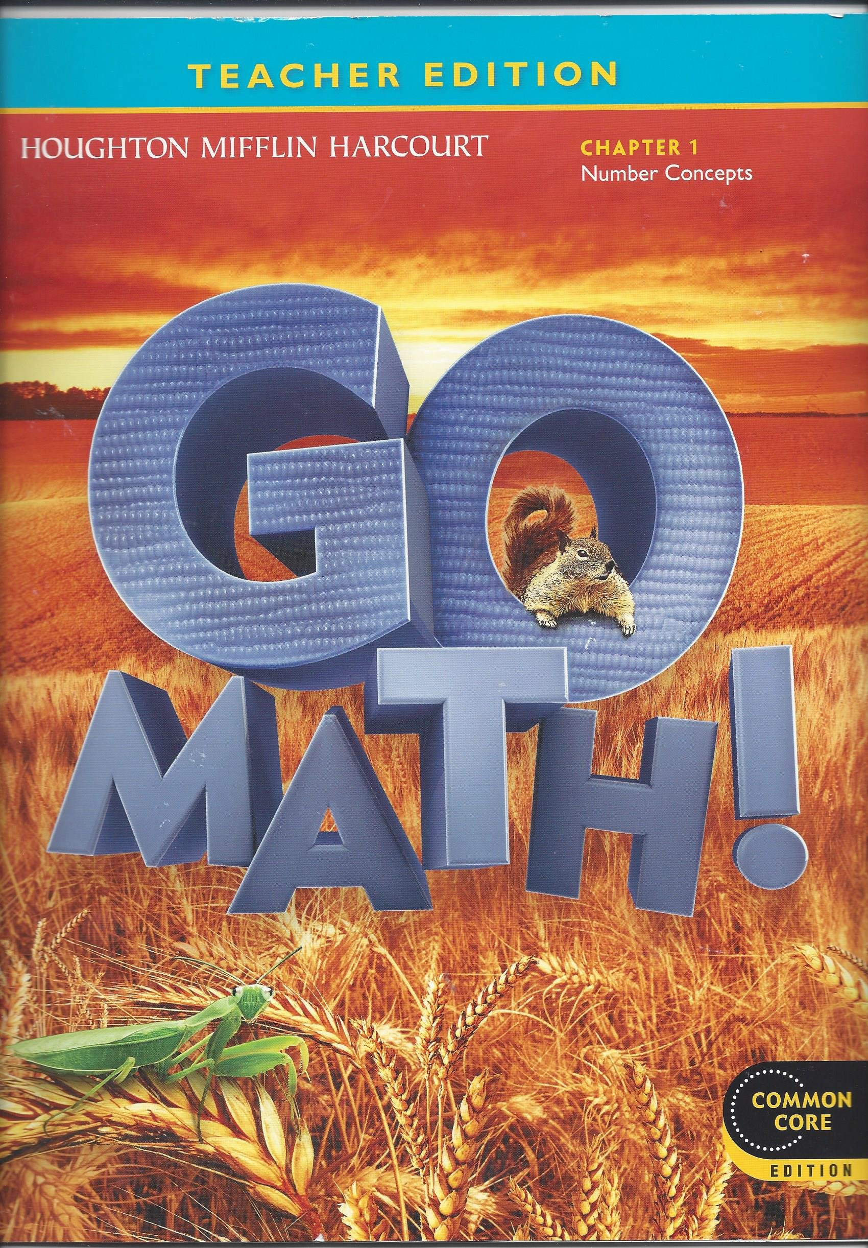 Teacher Edition Go Math 2nd Grade Chapter 1 Number Concepts