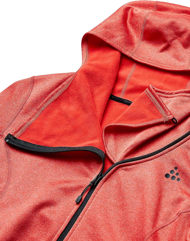Craft Womens Sports Fleece Assymetric Zipper Training Jacket
