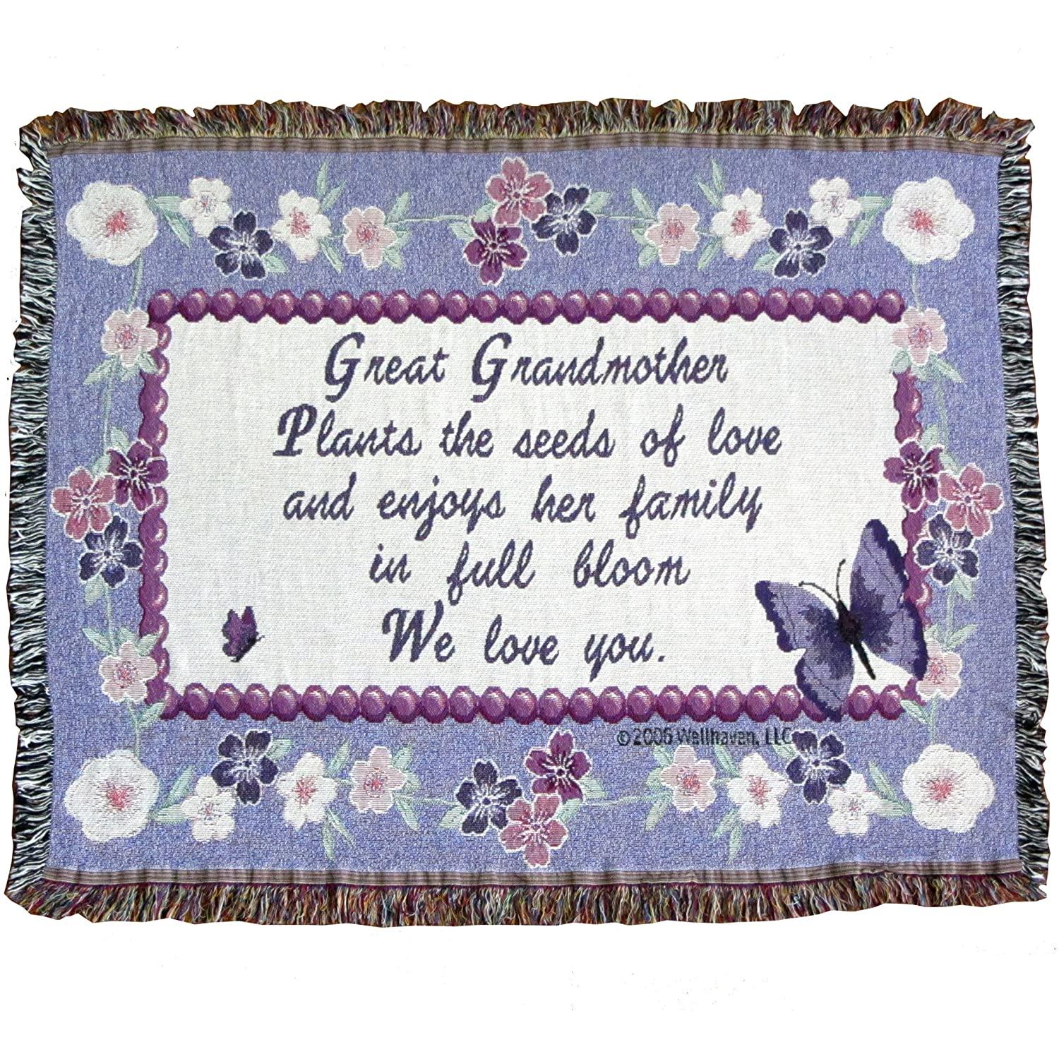 Amazon Jubilee Celebrations Great Grandmother Throw Blanket