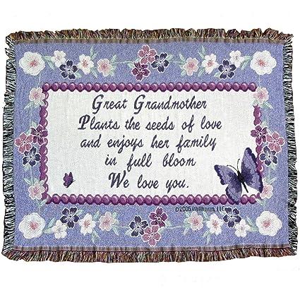 amazon com great grandmother throw blanket gift for great grandma