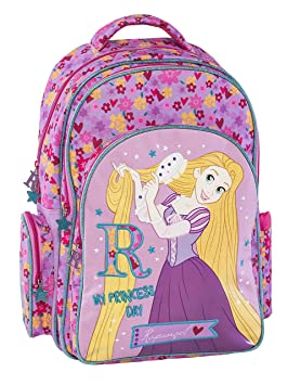 Graffiti Disney Princess Mochila Escolar, 44 cm, Rosa (Lilac): Amazon.es: Equipaje